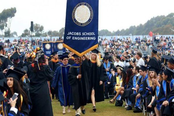 达赖喇嘛尊者在加州大学圣地亚哥分校毕业典礼上发表精彩演讲