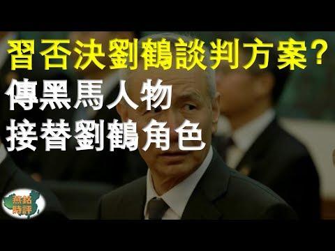 习近平否决刘鹤谈判方案?传黑马人物接替刘鹤角色 并非胡春华
